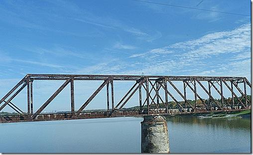 Old Railroad bridge Toledo