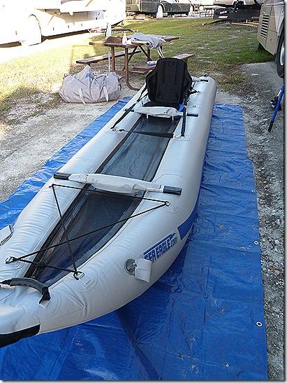 Kayak seat straps long view 2