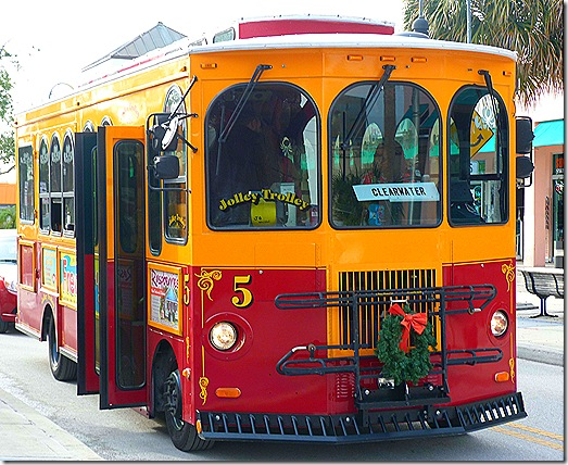 Tarpon Springs trolly 2