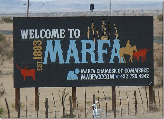 Marfa sign