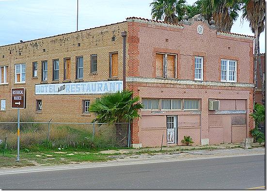 Old Hotel Restaurant building