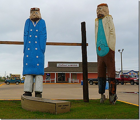 Port Aransas statues