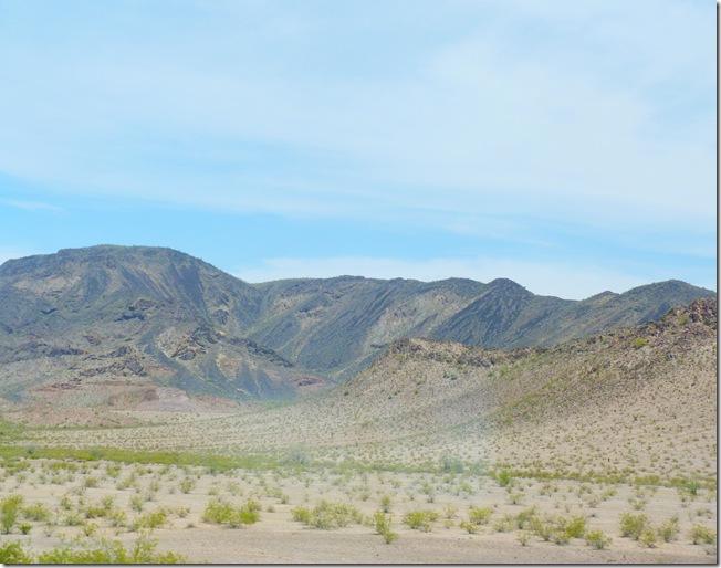 Arizona mountain range