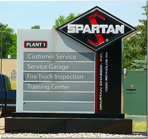 Spatan sign