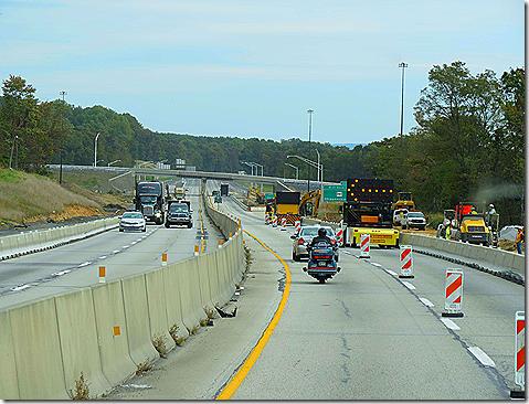 Rough road construction 2