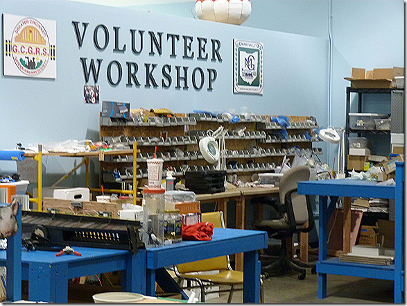 Volunteer workshop