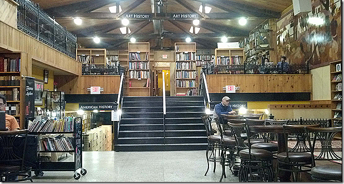Bookstore lobby