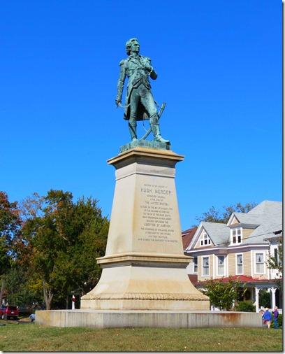 Hugh Mercer statue