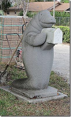 Manatee mailbox2