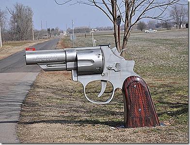 Oklahoma Gun Mailbox