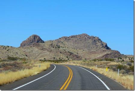 US 70 curve