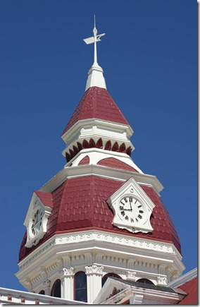 Florence courthouse clock