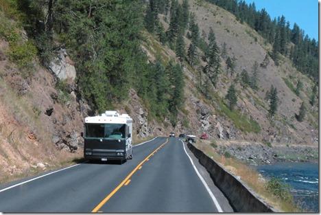 Motorhome on US 12