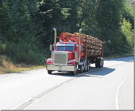 Logging truck 2