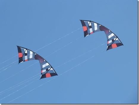 Twin kites