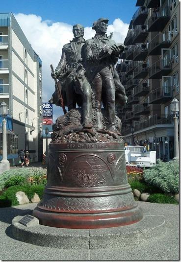 Lewis Clark monument