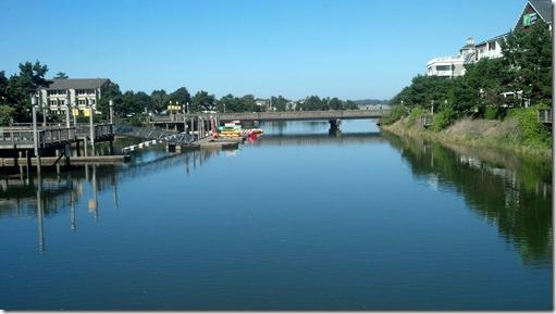 Seaside river
