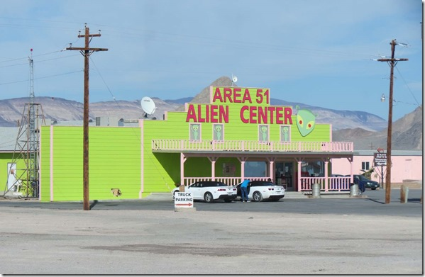 Alien Travel Center