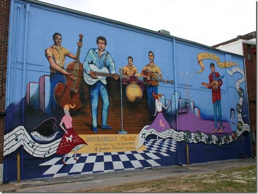 Rockabilly mural 2