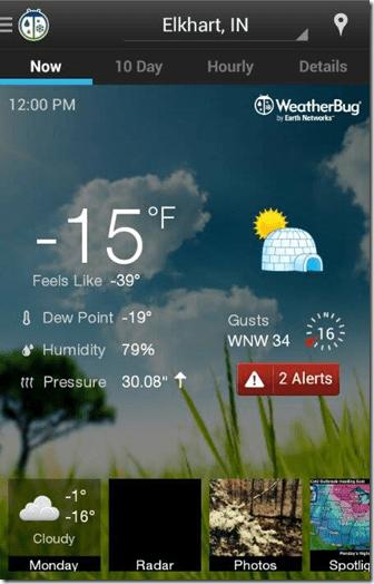 Elkhart weather