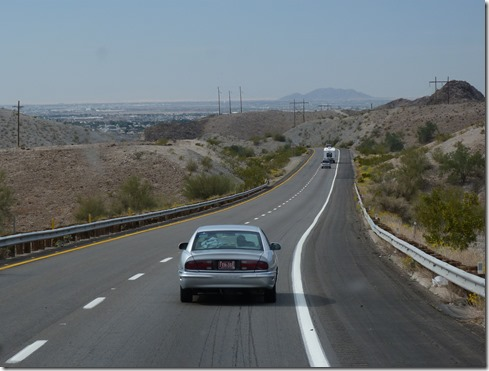 Interstate 8 downhill
