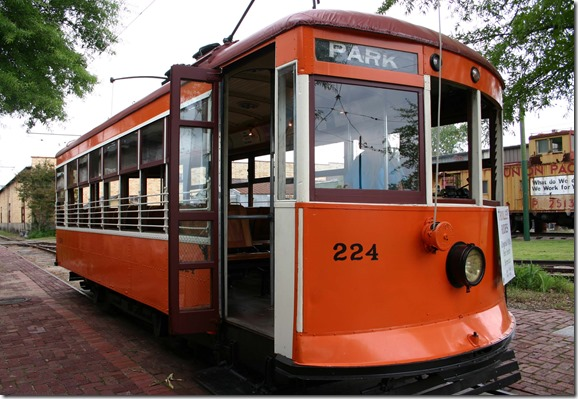 Fort Smith Trolley Museum trolley 3
