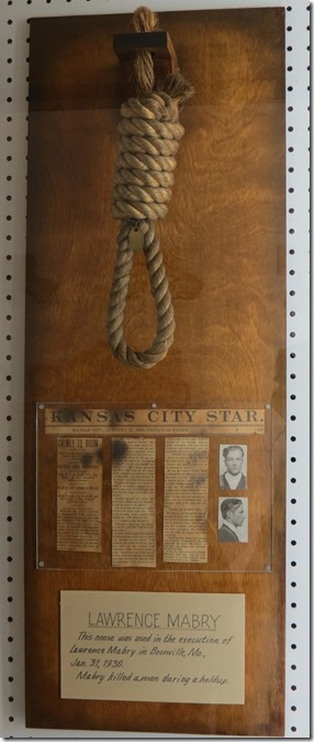 Lawrence Mabry noose