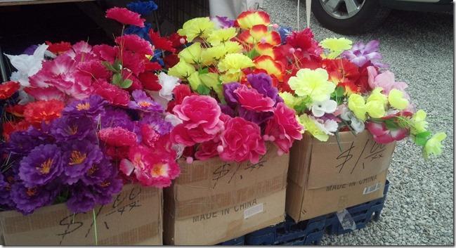 Flea Market flowers