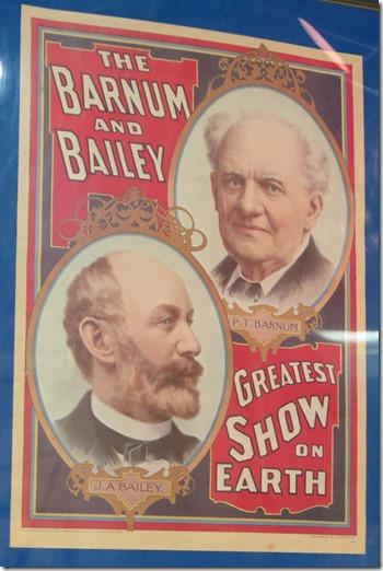 Barnum Bailey poster