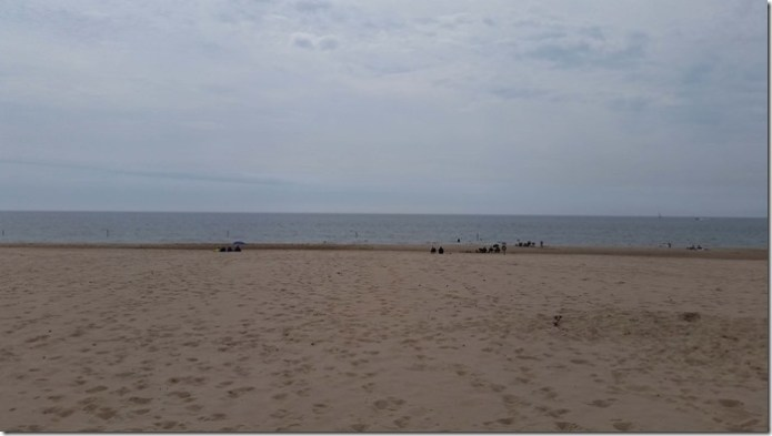 Muskegon beach
