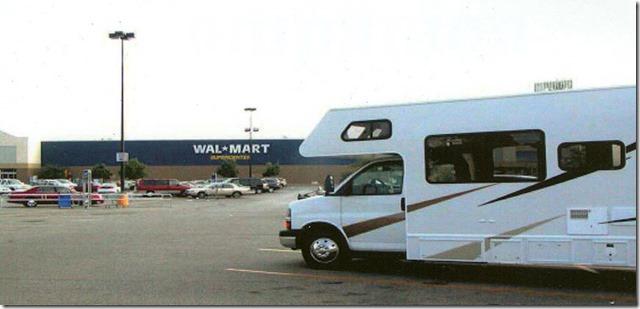 RV at WalMart