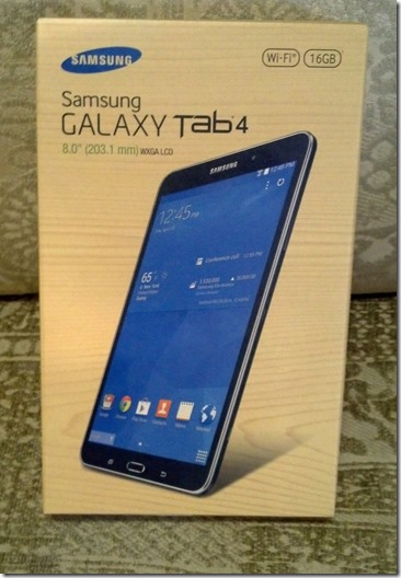 Samsung Tab box