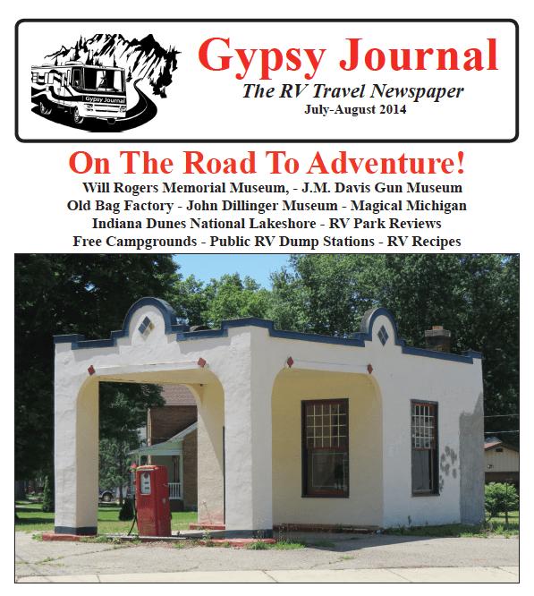 Gypsy Journal RV Travel Newspaper