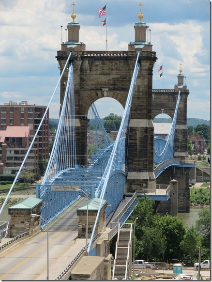 John A. Roebling Suspension Bridge 2