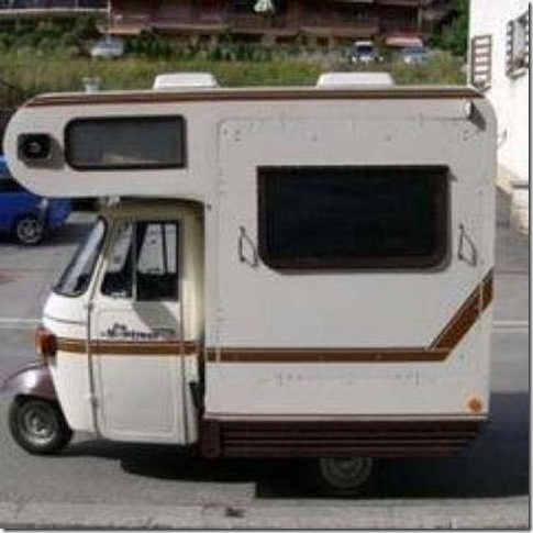 Three wheel RV