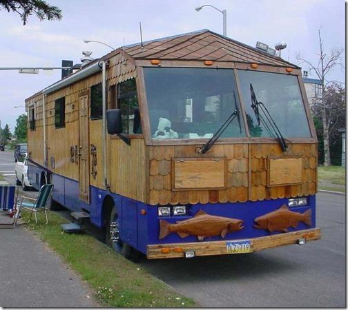 Woodie motorhome