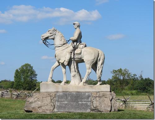 8th Pennsylvania Cavalry monument