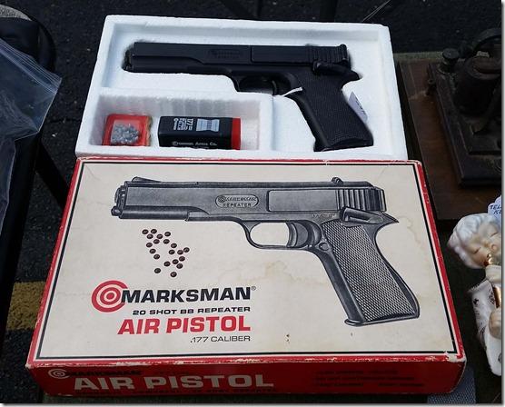 Marksman air pistol