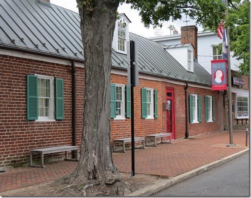 Monroe Museum outside