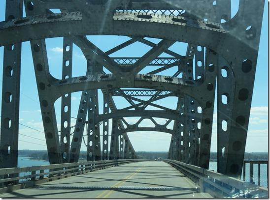 Robert O Norris bridge superstructure