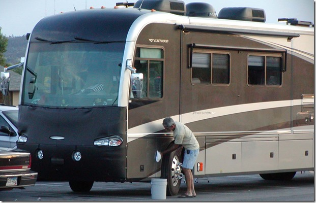 Walmart RV washing 5