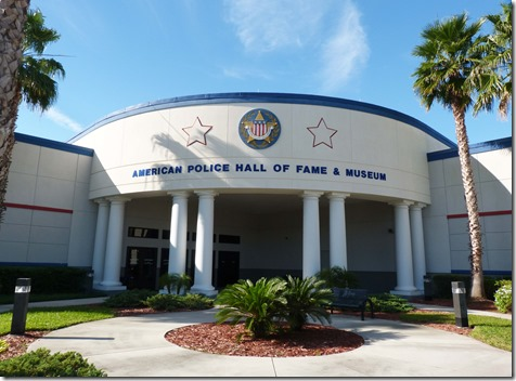 Police Hall of Fame outside