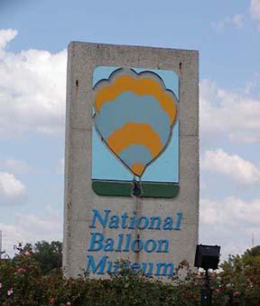 balloon museum sign