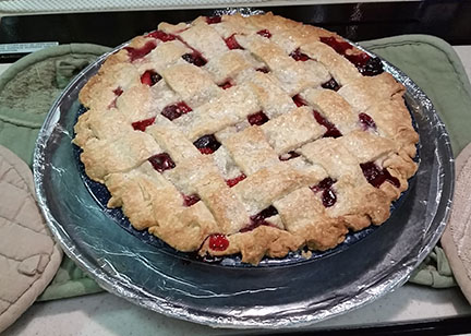 Berry pie small