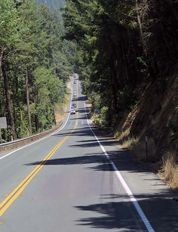 US 101 two lane 2 small