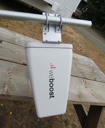 Antenna mounted small