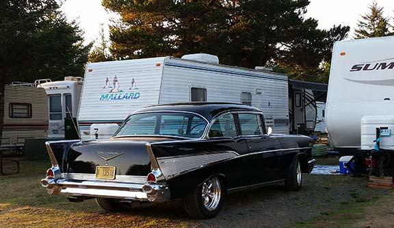 57 Chevy RV park small