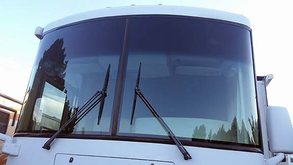 New windshields in small