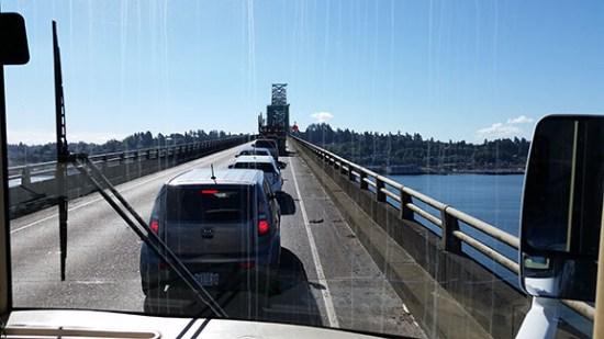 Stuck on bridge