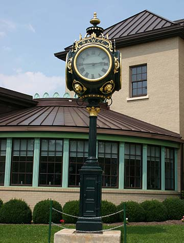 watch museum outside clock